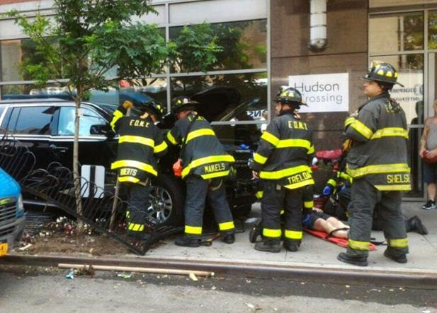 Fue un accidente atropellamiento en Manhattan: testigos