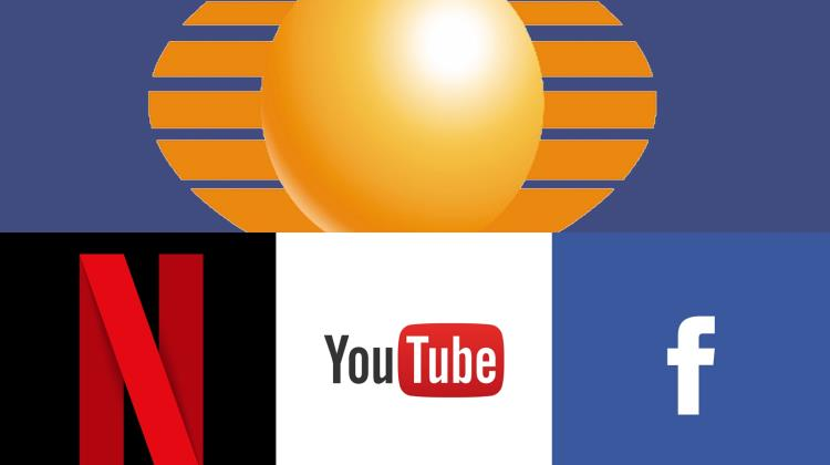 Televisa vs Netflix, Youtube y Facebook
