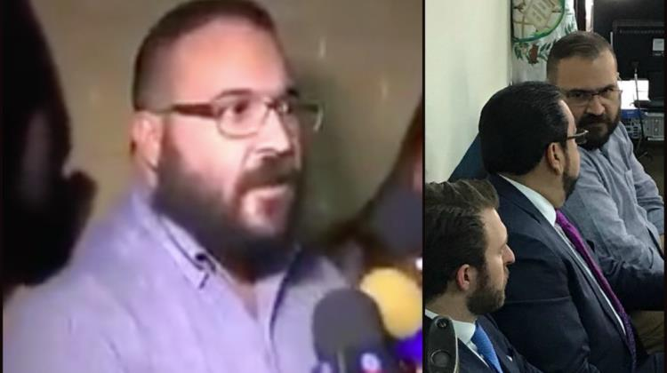 Javier Duarte dicharachero tras audiencia