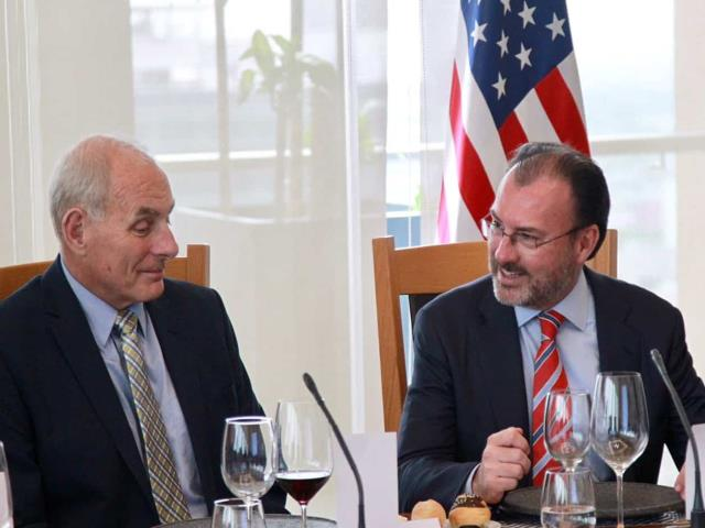 Videgaray se reunirá con Kushner y Kelly en Washington