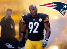 Luego del desprecio, James Harrison firma con Patriotas