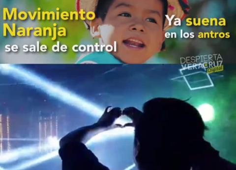 #Video Movimiento Naranja, furor en redes sociales
