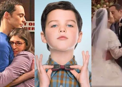 """Young Sheldon"" revela el destino de Sheldon Cooper con Amy en ""The Big Bang Theory"""