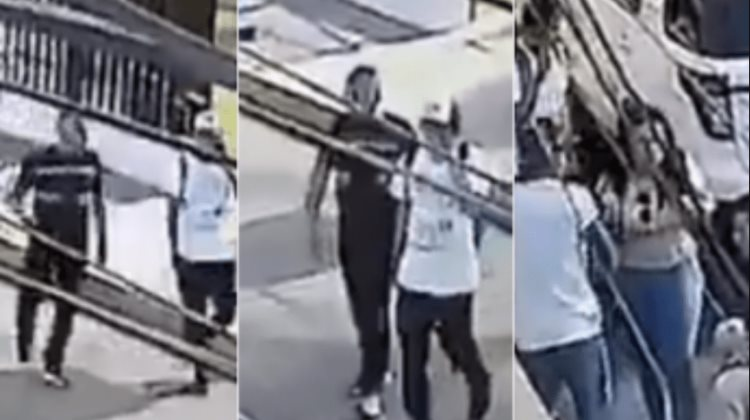 Asalto en la CDMX: Tres sujetos amenazan a estudiantes (VIDEO)