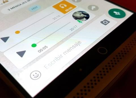 WhatsApp decide eliminar la grabadora de audio