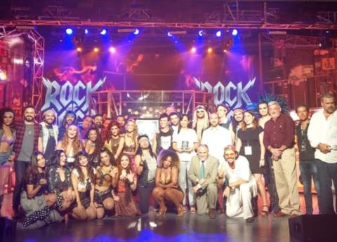 "El musical de original de Broadway, ""Rock of Ages"", cumple 300 representaciones de su segunda temporada"