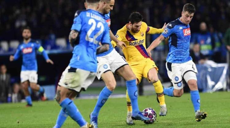 Barcelona vs Napoli: horario y dónde ver EN VIVO Champions League