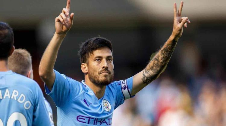Manchester City rendirá homenaje a David Silva con estatua
