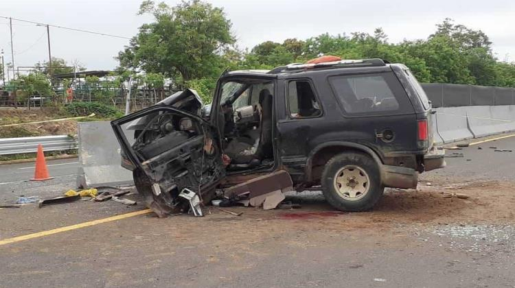 Muere señora en accidente de auto en Soconusco