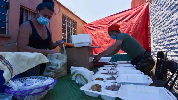 Community kitchens increase due to pandemics in CDMX