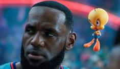 ¡Imperdible! Así se ve LeBron James en Space Jam 2
